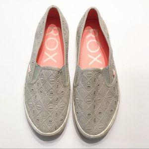 Roxy Slides Slip On Flats Shoes